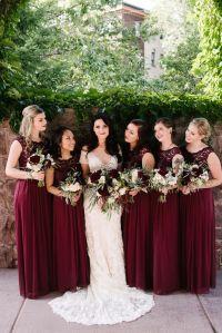 The 25+ best Burgundy bridesmaid dresses ideas on ...