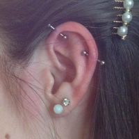 Best 25+ Industrial piercing ideas on Pinterest ...