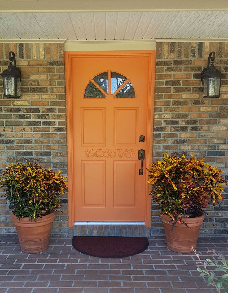 1000+ ideas about Orange Front Doors on Pinterest