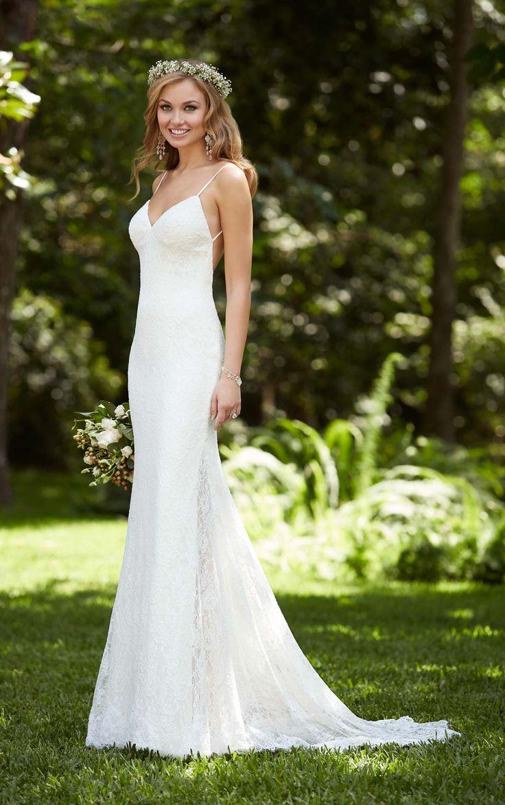 dramatic wedding dresses cheapest wedding dresses Dramatic Low Back Wedding Dress