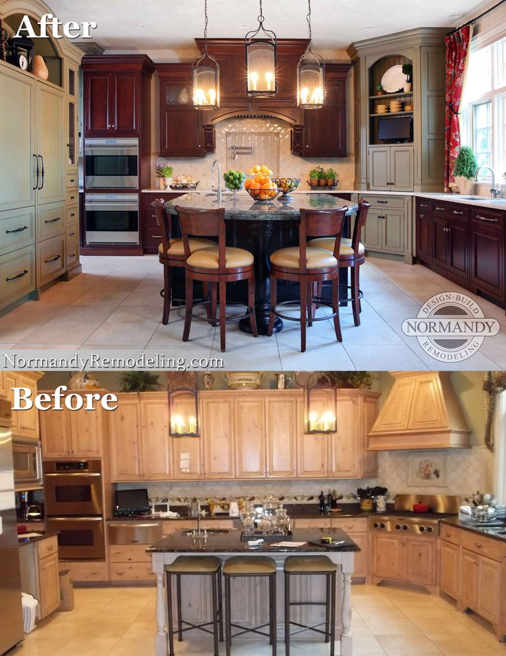 Images Of Rustic Mahogany Cabinets In Kitchens 28 Best Images About Before & After Home Remodeling