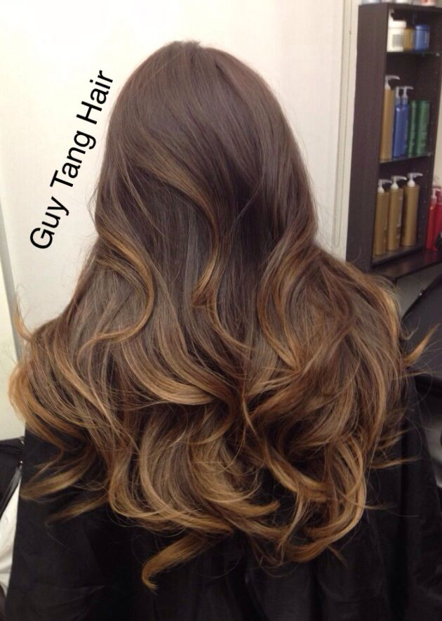 Short Balayage Hair Pinterest Chocolate Caramel Ombre By Guy Tang Balayage Ombre