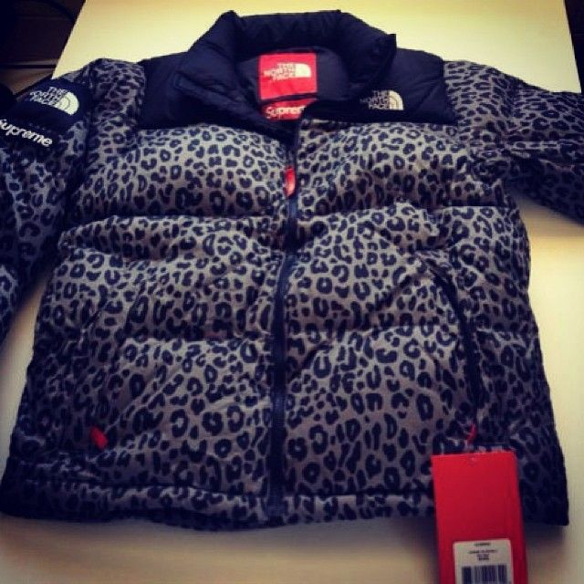 Van Haren Nike Abrigo The North Face X Supreme Leopardo