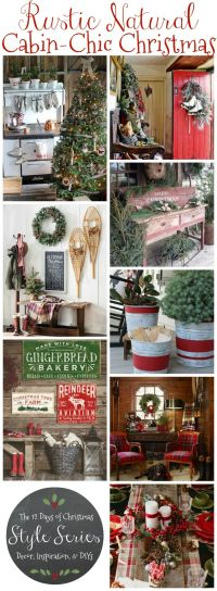1000+ ideas about Rustic Christmas Decorations on ...