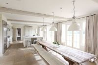 A LOVELY CONVERTED BRITISH BARN | Narrow kitchen, French ...