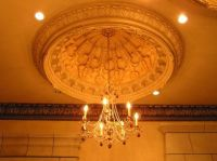 Plaster Ceiling Dome - Paris Dome with light ring ...