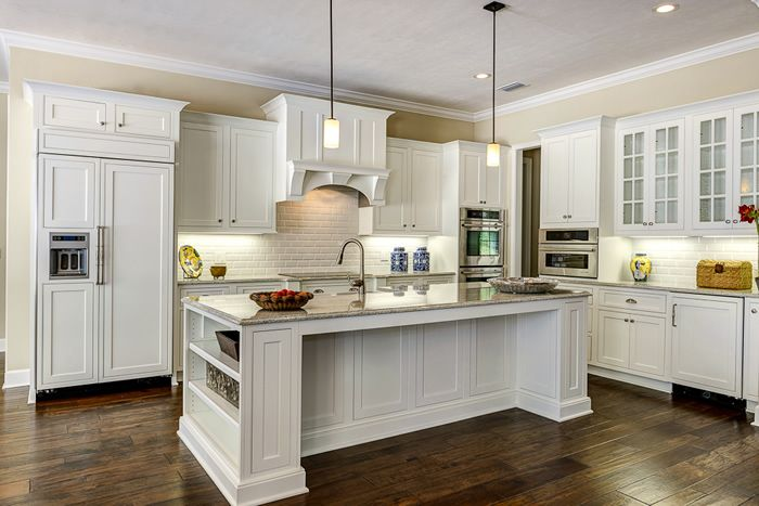 Kabinet King Shiloh Cabinets: Polar Maple, Beaded Inset Overlay Using