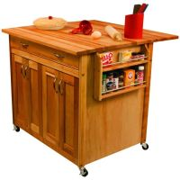 Moveable Kitchen Island Efficient : Rolling Very Good ...