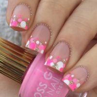 25+ great ideas about Pink summer nails on Pinterest