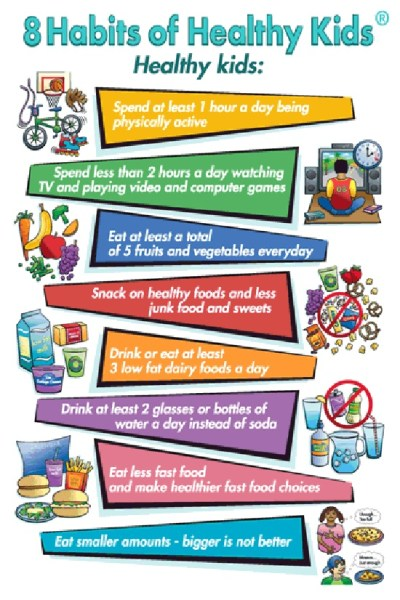 Help kids stay healthy with these habits. (via ...