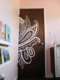 25+ best ideas about Door murals on Pinterest | Painted ...