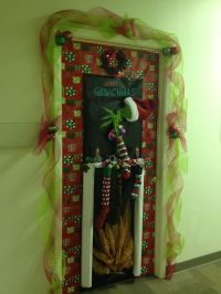 how the grinch stole christmas door decorating ideas ...
