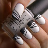 25+ best ideas about Black white nails on Pinterest ...