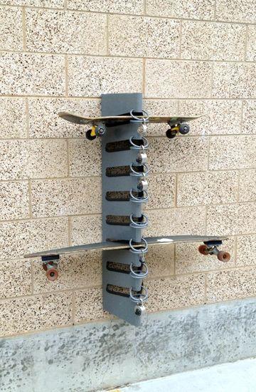 Best 25 Skateboard Rack Ideas On Pinterest Good