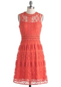 25+ best ideas about Coral colored dresses on Pinterest ...