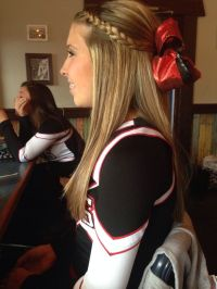 25+ best ideas about Cute cheer hairstyles on Pinterest ...