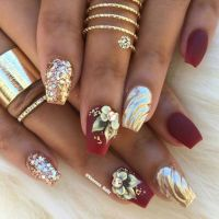 25+ best ideas about 3d Acrylic Nails on Pinterest