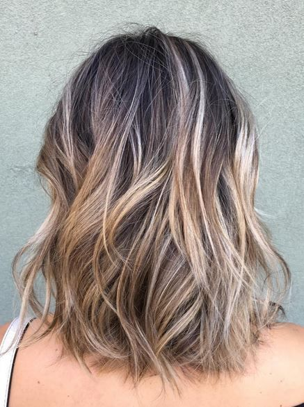 Hiding Grey Hair With Balayage This Would Cover The Gray But Very Blonde For Me Hair