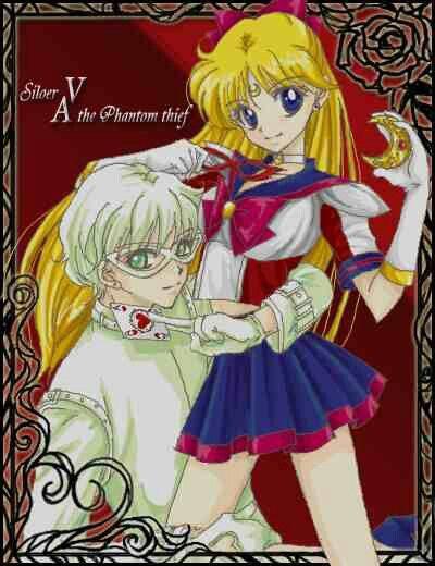 Tuxedo Wallpaper Hd Sailor V Amp Phantom Ace Anime Amp Manga Pinterest Vs