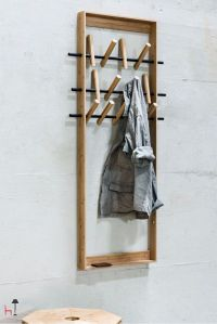 1000+ ideas about Coat Hanger on Pinterest | Diy coat rack ...