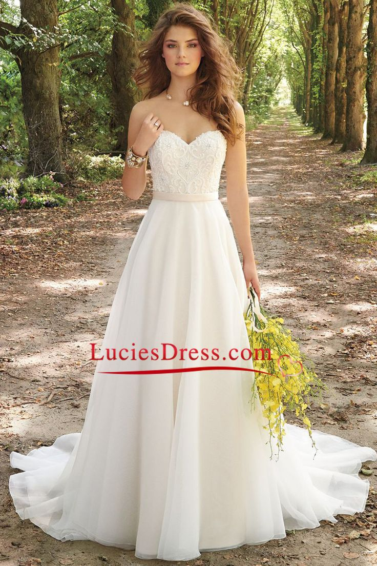wedding dresses a line wedding dresses A Line Wedding Dresses Sweetheart Chiffon With Applique And Beads