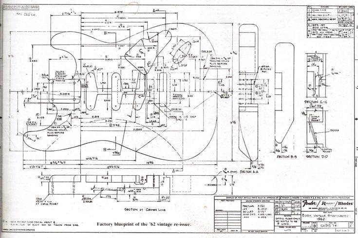 guitar parts diagram for pinterest