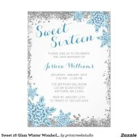 10 Best images about Winter Wonderland Sweet 16 Ideas on ...