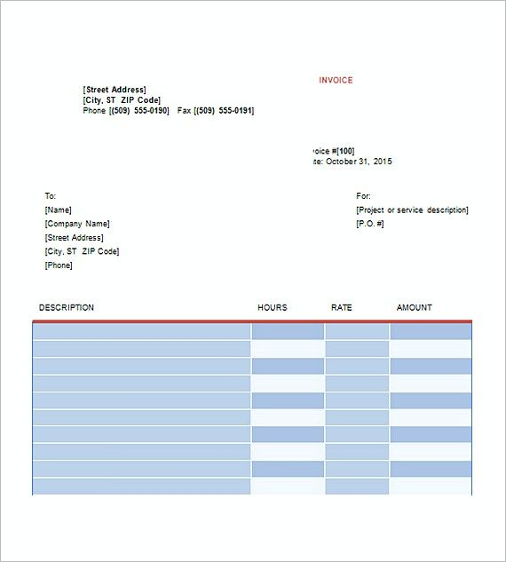25+ best ideas about Invoice template on Pinterest
