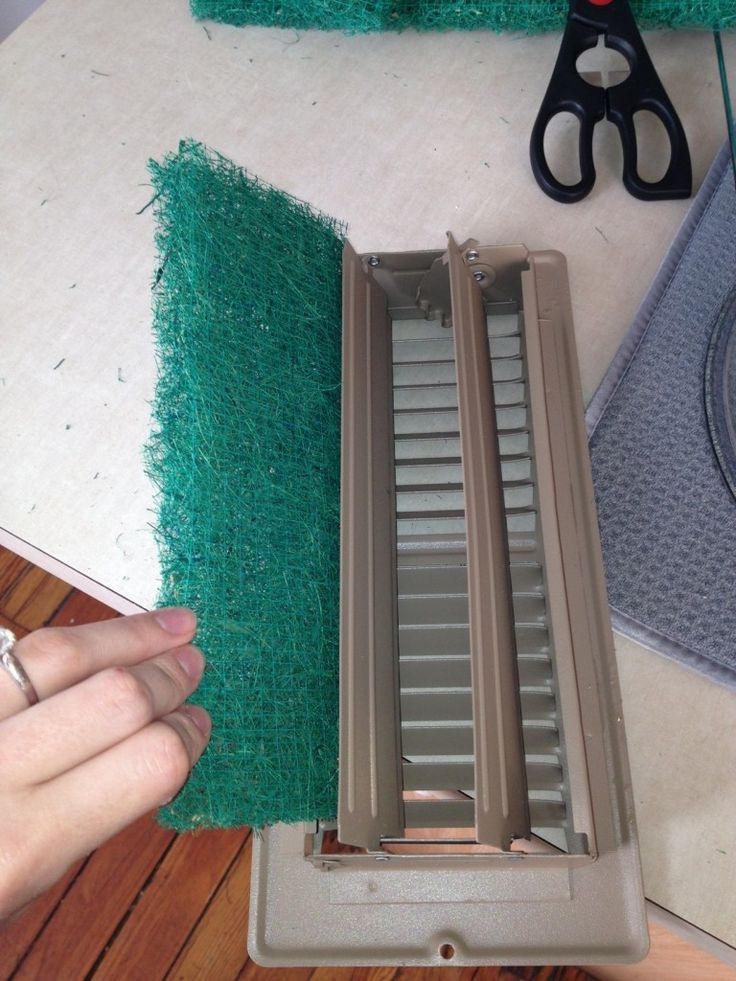 Put Cut To Size Furnace Filters In All Your Registers