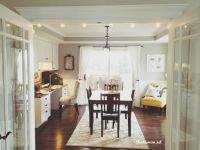 Office Craft Room Tour | French doors, Offices and Craft rooms
