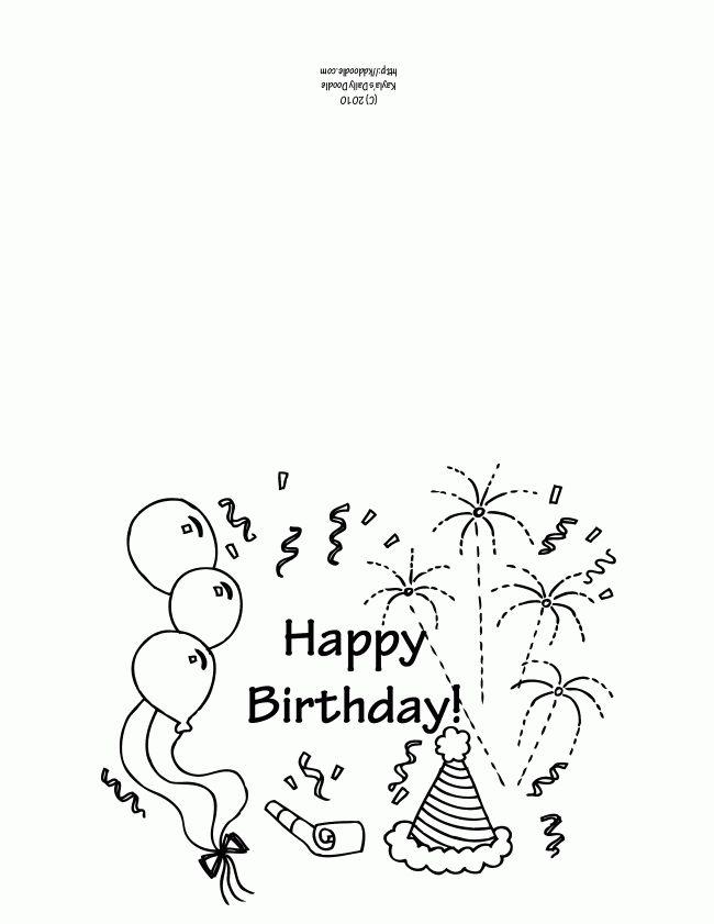 Pinterestu0027teki 25u0027den fazla en iyi Birthday card template fikri - birthday card template