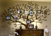 Family Tree Wall decal, Tree Wall Decal, Photo Frame Tree ...