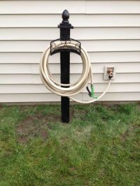 25+ best ideas about Water hose holder on Pinterest | Hose ...