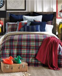 Tommy Hilfiger Middlebury Plaid Twin Comforter Set ...
