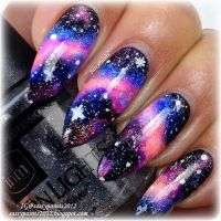 25+ best ideas about Galaxy Nail Art on Pinterest | Galaxy ...