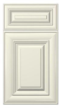 cambridge door style :: painted :: antique white #kitchen ...