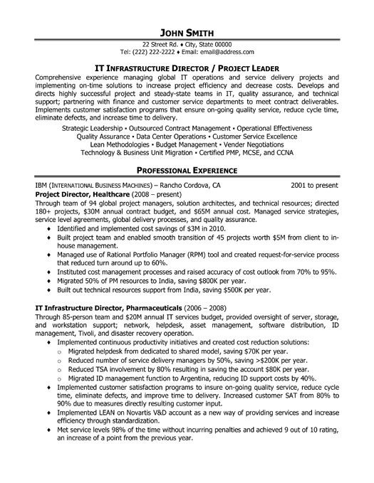 click here to download this project manager resume template - project management resume examples