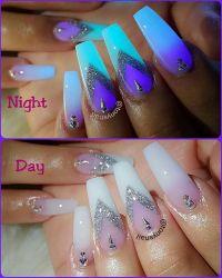 25+ best ideas about Glow nails on Pinterest | Dark nail ...