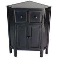 Black Corner Storage Cabinet... | Kitchen Cabinets ...