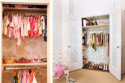 17 Best ideas about Closet Wallpaper on Pinterest | Cool wall decor, Small closet design and ...