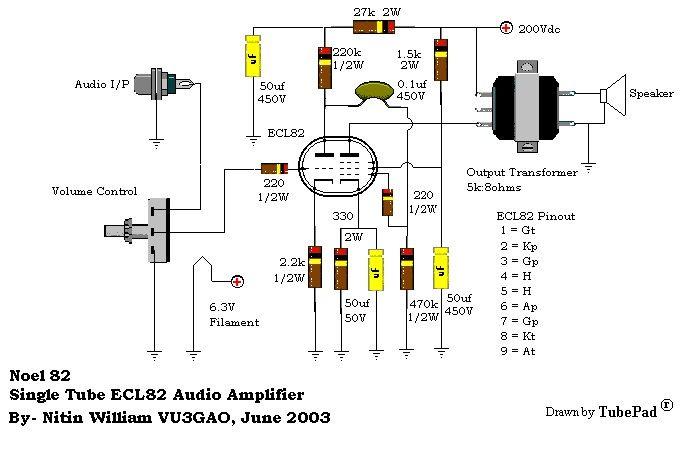 class a 12au7 tube headphone amplifier
