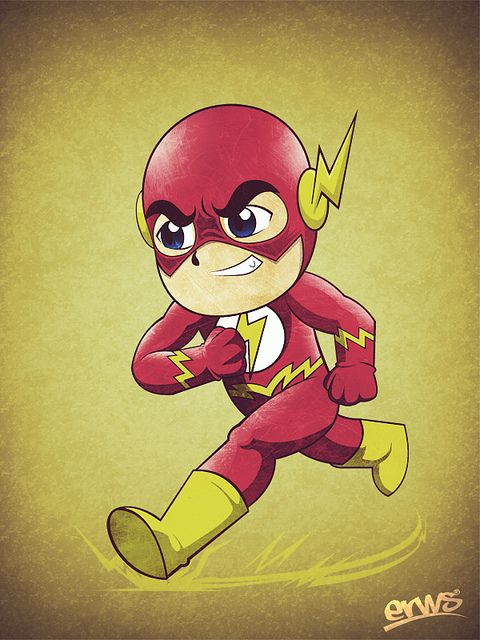 Chibi Hulk Cute Wallpaper The Flash Can T Forget The Lightning Bolts By Ears Geek