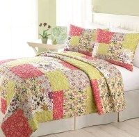 TWIN - Home Classics - Alicia QUILTED PILLOW SHAM & QUILT ...