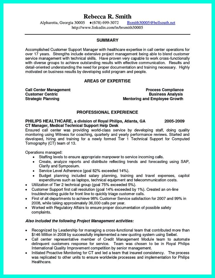 Call Center Resume Examples Resume For Call Center Agent Without - sample resume for customer service rep