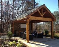 1000+ images about Outdoor Patio Shelter - Large Beam on ...