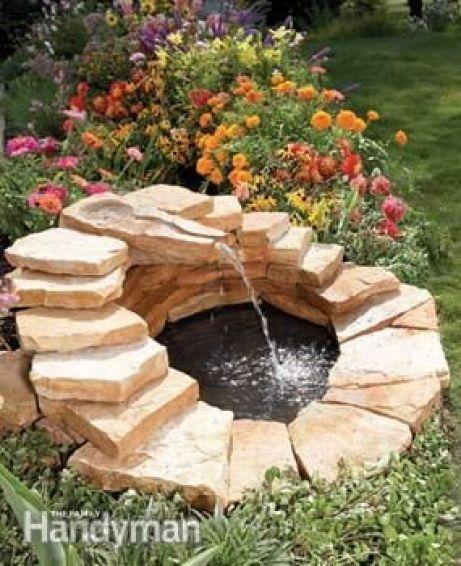 15 idee per realizzare laghetti, fontane e giardini acquatici ...
