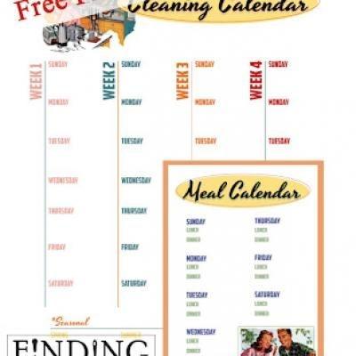 meal calendar lovinglyy - meal calendar