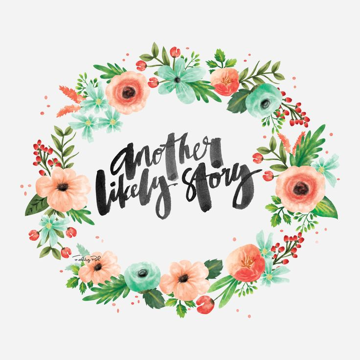 Cute Roses Wallpapers With Wordings Another Likely Story Calligraphy Lettering Song Lyrics
