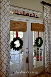 Best 25+ French door coverings ideas on Pinterest