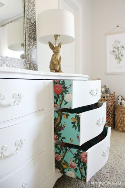 231 best images about Inside Drawer Detail on Pinterest | Milk paint, Decoupage and Lining drawers